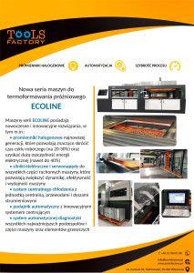 Informacja o maszynie ECOLINE